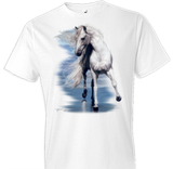 Beauty and The Sea Horse Tshirt - TshirtNow.net - 1