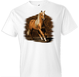 Golden Boy Horse Tshirt