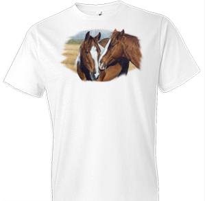 Making Friends Horse Tshirt