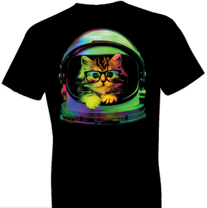 Space Kitten Cat Tshirt