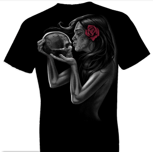 Day of Dead Kiss Fantasy Tshirt