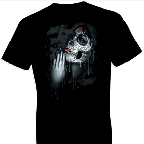 Day of Dead Pray Fantasy Tshirt
