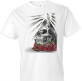 Day of Dead Candle Fantasy Tshirt - TshirtNow.net - 1