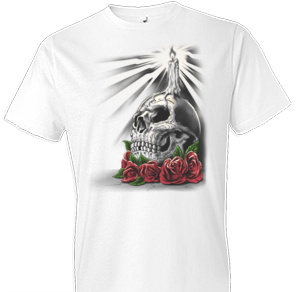 Day of Dead Candle Fantasy Tshirt