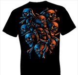 Skeleton Shield Fantasy Tshirt - TshirtNow.net - 1