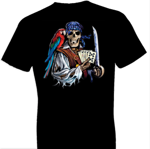 Dead Man's Hand Pirate Tshirt