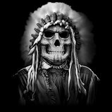 Indian Chief Skull Tshirt - TshirtNow.net - 2