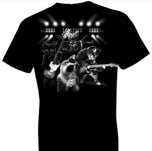 Cat Rock Guitar Tshirt
