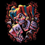 Wicked Jester Clown Tshirt - TshirtNow.net - 2