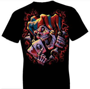 Wicked Jester Clown Tshirt - TshirtNow.net - 1