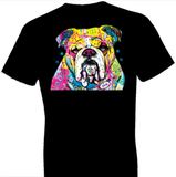 Neon Bulldog Tshirt with Large Print - TshirtNow.net - 1