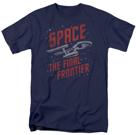 Star Trek Space The Final Frontier TOS Enterprise SPACE TRAVEL Tshirt - TshirtNow.net
