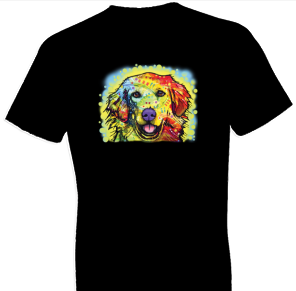 Neon Golden Retriever Tshirt - TshirtNow.net - 1