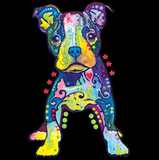 Neon On My Own Dog Tshirt with Large Print - TshirtNow.net - 2