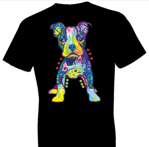 Neon On My Own Dog Tshirt with Large Print - TshirtNow.net - 1