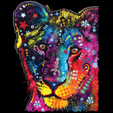 Neon Young Lion Cat Tshirt - TshirtNow.net - 2