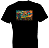 Neon Starry Night Tshirt - TshirtNow.net - 1