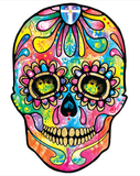Neon Skull Day of The Dead Tshirt - TshirtNow.net - 2