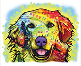 Neon Golden Retriever 2 Tshirt - TshirtNow.net - 2