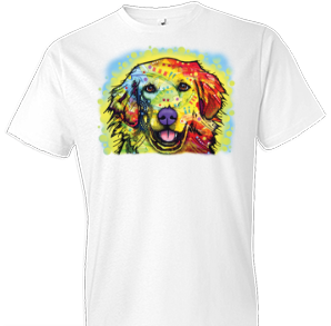 Neon Golden Retriever 2 Tshirt - TshirtNow.net - 1