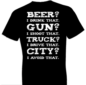Avoid The City Country Tshirt
