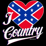 I Love Country Tshirt - TshirtNow.net - 2