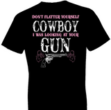 Looking At Your Gun Country Tshirt - TshirtNow.net - 1