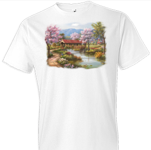 Serene Bridge Country Tshirt - TshirtNow.net - 1