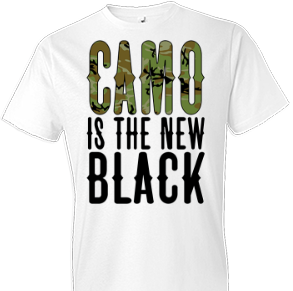 Camo Is The New Black Country Tshirt