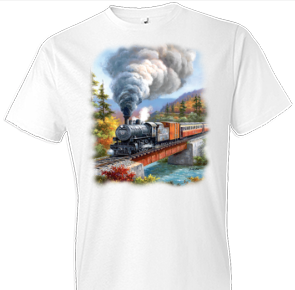 Train Crossing Country Tshirt - TshirtNow.net - 1