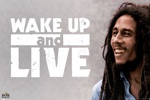 Bob Marley Wake Up Poster