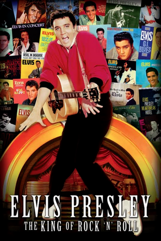 Elvis King of Rock N' Roll Poster