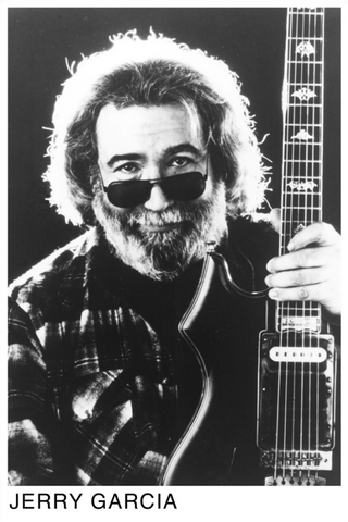 Grateful Dead- Jerry Garcia Poster