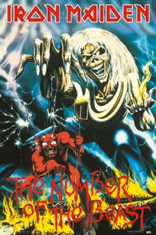 Iron Maiden- Number of the Beast Poster