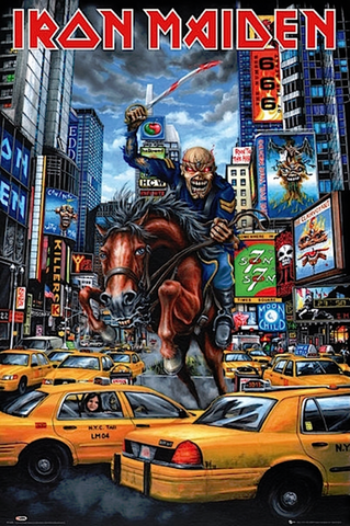 Iron Maiden- New York Poster