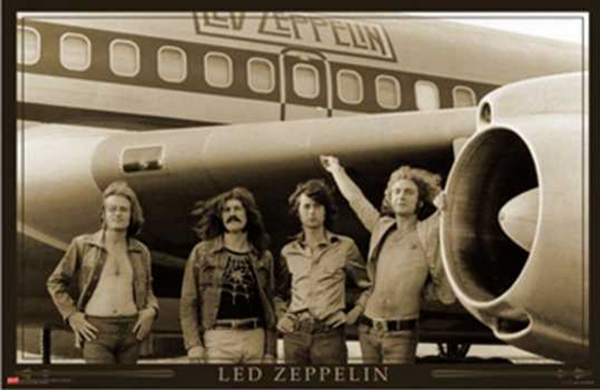 Led Zeppelin Airplane Poster - TshirtNow.net