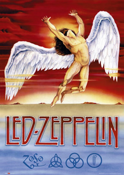 Led Zeppelin Swan Song Poster - TshirtNow.net
