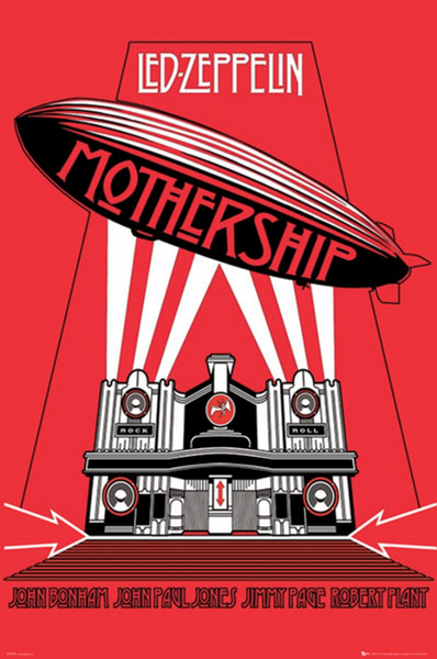 Led Zeppelin Mothership Poster - TshirtNow.net