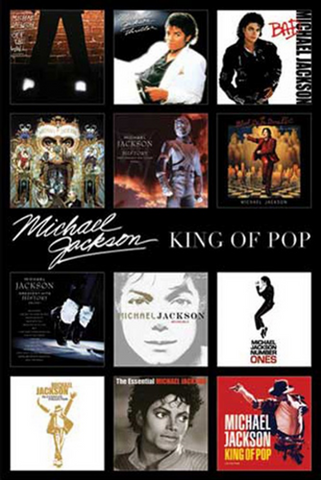 Michael Jackson Discography Poster