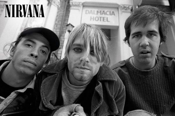 Nirvana Band Shot Poster - TshirtNow.net