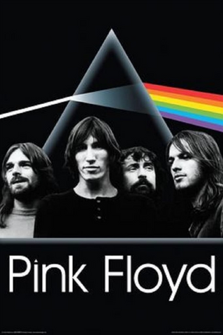 Pink Floyd The Darkside Group Poster