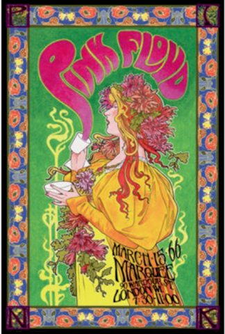 Pink Floyd London 1966 Poster