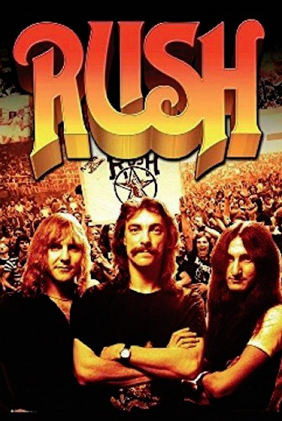 Rush Group Crowd Poster - TshirtNow.net