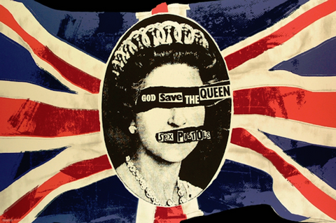 Sex Pistols God Save The Queen Poster