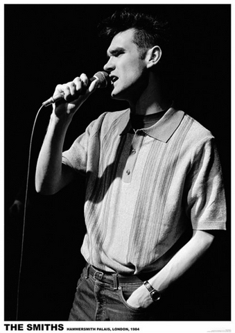 Smiths Morrissey 1984 Poster