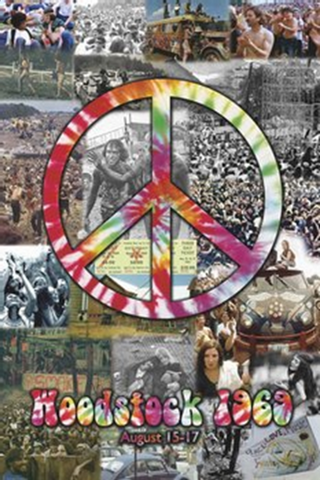 Woodstock Collage Poster