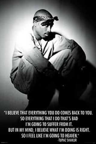 Tupac I Believe Poster