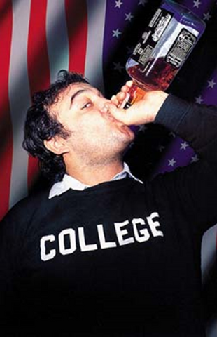 Animal House Belushi Jack Daniels Poster
