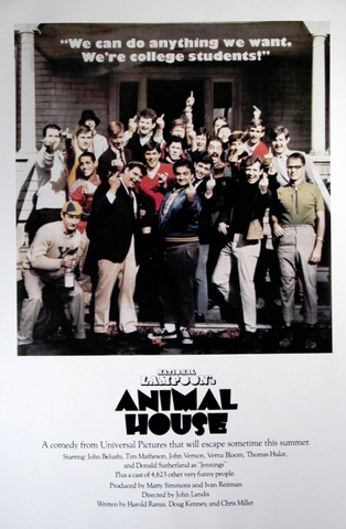 Animal House Fingers Poster