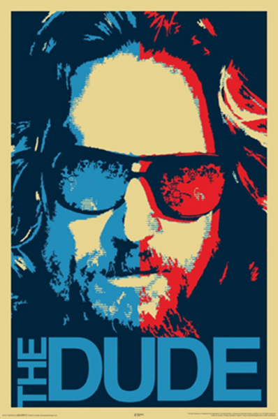 Big Lebowski The Dude Poster - TshirtNow.net